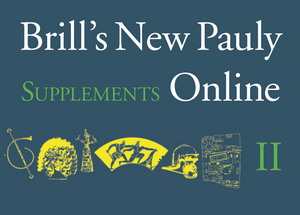 Brill's New Pauly Supplements II - Volume 9 : The Early Mediterranean World, 1200–600 BC