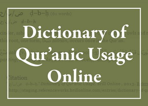 Dictionary of Qurʾanic Usage