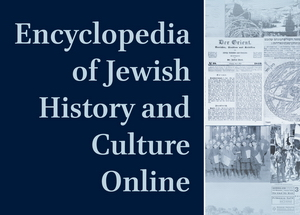 Encyclopedia of Jewish History and Culture Online