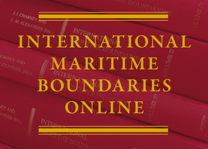 International Maritime Boundaries