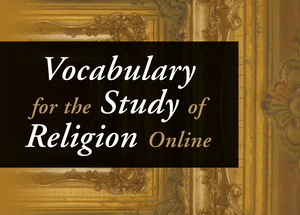 Vocabulary for the Study of Religion