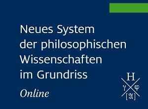 Neues System der philosophischen Wissenschaften im Grundriss Online