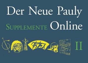 Der Neue Pauly Supplemente II Online - Band 8 : Historische Gestalten
