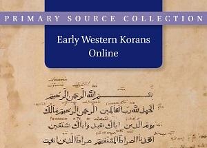 Early Western Korans Online