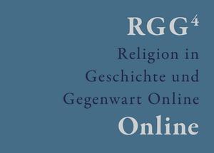 Religion in Geschichte und Gegenwart